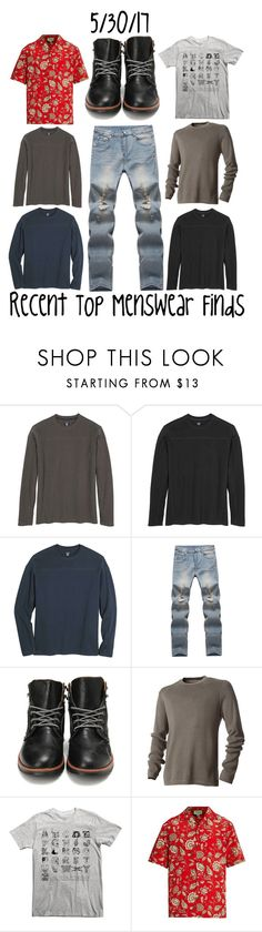 """Recent Top Menswear Finds"" by maggie-johnston ❤ liked on Polyvore featuring Kuhl, Royal Robbins, Gucci, men's fashion and menswear"