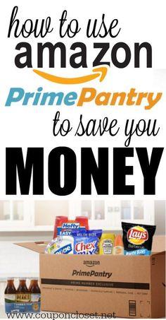 #amazon #pantry #coupon #closet #prime #saves
