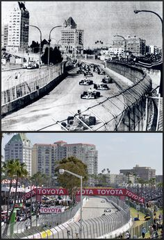 Long Beach Grand Prix 1975/2010 (then and now)