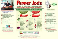 65+ Free Seed and Plant Catalogs: Pepper Joey's Seed Catalog