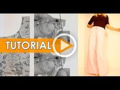 DIY Costura: Cómo hacer pantalón moda - YouTube