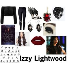 Izzy Lightwood by erinbvb579 on Polyvore featuring mode and Lime Crime