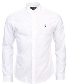 New Arrivals 2017 Mens Top Fashion Brands New In Store Today Ralph Lauren  Polo Slim Fit Casual Cotton Poplin Shirt 7601bb226c9