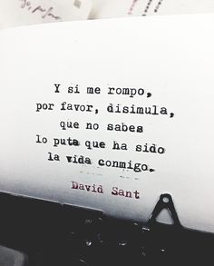 Y si me rompo. More Than Words, Some Words, Illustrated Words, Smart Quotes, Magic Words, Some Quotes, Spanish Quotes, Beautiful Words, Positive Vibes