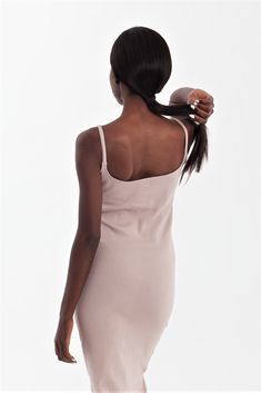 Nude Ribbed Strappy Bodycon Dress • Maxi dress • scoop neckline dress • tight dress • fitted dress • casual dress • dual size dress • nude ss1910  INSPIRED BY THE SKIN . MADE FOR THE BODY  Handmade A wardrobe staple Bodycon fit Holds you close Dress Casual, Tight Dresses, Wardrobe Staples, Tights, Bodycon Dress, Neckline, Nude, Culture, Inspired