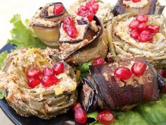 Eggplant with walnuts and spices