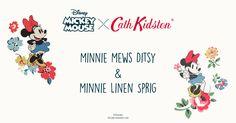 Minnie Mews Ditsy and Minnie Linen Sprig