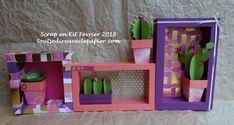 Home déco Cadres et cactus avec les papiers Peint avec amour