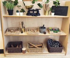 •PLAYDOUGH• Some newly revamped playdough shelves in my classroom. This area is already a popular area, but now it looks beautiful! I'll…