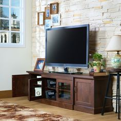 Furniture of America Walder Vintage Walnut 68-inch TV Stand - 17296045 - Overstock.com Shopping - Great Deals on Furniture of America Entertainment Centers
