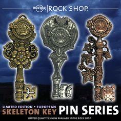 """Venez découvrir la nouvelle série de Pins """"Skeleton Key"""" en édition limité à partir du 23 janvier 2016"""