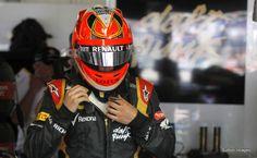 Helmet Kimi Räikkönen Monaco 2013