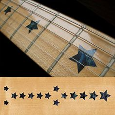 Fretboard Markers Inlay Sticker Decals for Guitar & Bass - Everly Brothers Star - BP