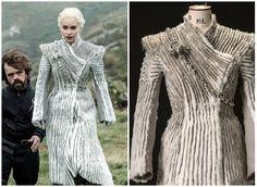 Abrigo blanco daenerys