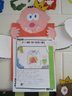 """Love, love, love the Tooth Fairy!!  This little cutie was part of a unit created by """"First Grade Fever"""".  Here's Shelbie's """"If I was the Tooth Fairy..."""""""