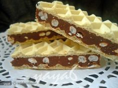 Tofu, Romanian Food, Dessert Recipes, Desserts, Waffles, Breakfast, Sweet, Pain Au Chocolat, Sweet Treats