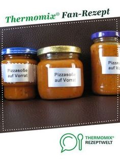 Pizzasoße auf Vorrat Rezept des Tages Pizza sauce in stock Recipe of the day from by Tina A Thermomix ® recipe from the Sauces / Dips / Spreads category at www.de, the Thermomix ® community. Sandwich Recipes, Pizza Recipes, Pizza Recipe Pillsbury, Potato Pizza Recipe, Thin Crust Pizza, Turkey Sandwiches, Dessert Sauces, Le Diner, Dough Recipe