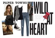 """""""PAPER TOWNS1"""" by dita-design on Polyvore featuring AG Adriano Goldschmied, Converse, Topshop, Princess Carousel and Juvia"""