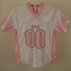 NFL New York Giants Jersey  00 Football Jersey Kids Girls Small 4 White   amp  bc93f6a1a