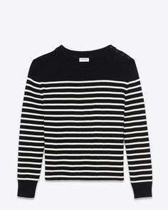 Saint Laurent Knitwear Tops: discover the selection and shop online on YSL.com