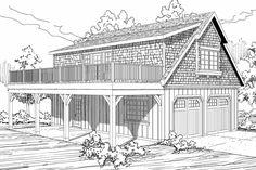 Garage Plan 20-061 - Front Elevation