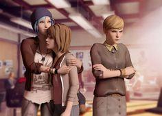 chloe, chloe price, life is strange, max, max caulfield, victoria, videogames, yuri