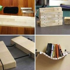 DIY Flexible Bookshelf