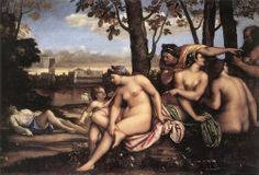 The Death of Adonis | Sebastiano del Piombo | 1511-12 | oil on canvas | 74 3/8 x 112 1/4 in | Uffizi, Florence, Italy
