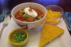 Now that was some good Chili! If you are looking for a chili recipe with a hint of smoke then you have to try this one. The flavors were delicous. Perfect for game day and the cooler weather. #AllstarsSmithfield   #ad