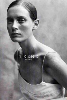 Trend Les copains - Emily Sandberg - SS 1999.  Photos PETER LINDBERGH