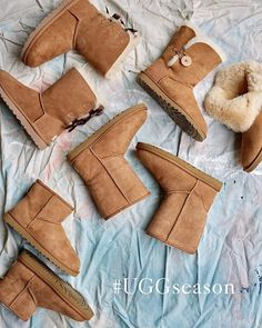 Welcome back #fall! Time for #UGGboots and pumpkin flavored everything. #UGGseason
