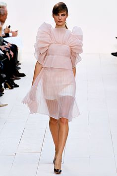 ruffled blush at chloe