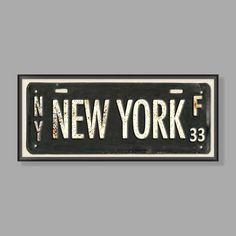 New York Framed Art