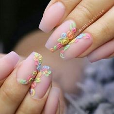 "See our internet site for even more info on ""acrylic nail art designs short"". It is an exceptional spot for more information. Acrylic Nail Art, 3d Nail Art, Acrylic Nail Designs, Nail Art Designs, Nails Design, Fancy Nails, Cute Nails, Pretty Nails, Spring Nails"