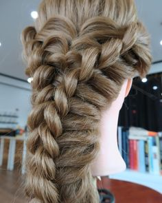 In out faux-braid