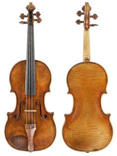 deceptivecadenza:  Violin by Guarneri, Peter (Ex-Marquis de Sers) (Mantua, Cremona, 1714)