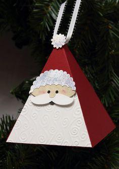 Santa Ornament with Pazzles Box