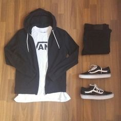 Vans old skool outfit for men