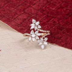 Dazzle up on your every occasion ✨ Check out this amazing diamond ring only o. - Dazzle up on your every occasion ✨ Check out this amazing diamond ring only on www. Best Diamond Rings, Round Diamond Engagement Rings, Antique Engagement Rings, Gold Rings Jewelry, Bridal Jewelry, Crystal Jewelry, Diamond Jewellery, Silver Bracelets, Silver Earrings
