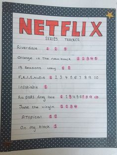 Bullet Journal Inspiration, Journal Ideas, Movie List, Disney Movies, Bff, Journaling, Netflix, Things To Do, Films