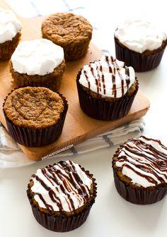 Cupcakes de zanahoria veganos | danzadefogones.com #danzadefogones