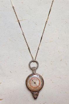 Upcycled Recycled Repurposed German nautical compass necklace on by OakbyLF, $45.00