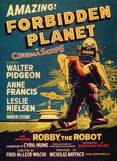 Forbidden Planet. Who know this old sci-fi movie would be so awesome. Oh, but it is (probably because it is a retelling of Shakespeare, as many good things are).