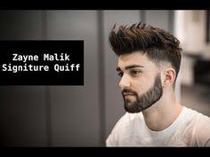 Zayn Malik Signature Hair Tutorial | Mens Summer Hairstyle Inspiration 2017 - YouTube