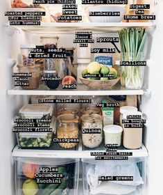 Clean eating fridge contents....