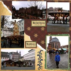 Christmas Market in Germany - Scrapbook.com