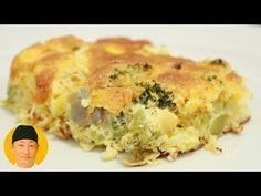 Suflê de legumes fácil - YouTube Quiche, Breakfast, Youtube, 36, Carne, Food, How To Make Salad, Eggplant Lasagna, Carrot