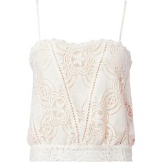 Flannel Chantilly Lace Cami (620 MYR) ❤ liked on Polyvore featuring intimates, camis, lace camis, lace camisole, lacy camisole and lacy cami