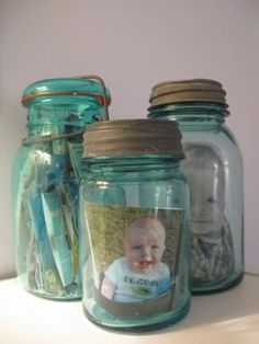Scrapbook in a bottle-so easy!