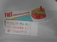 amazing list of random acts of kindness.  what an incredible way to spend a birthday